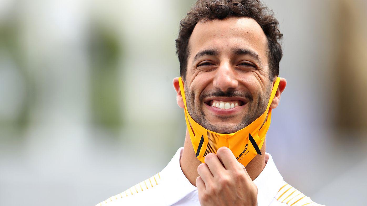 Daniel Ricciardo at Baku