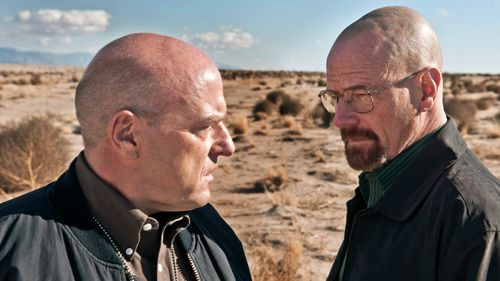 'Breaking Bad' protagonist, Walter White (right).