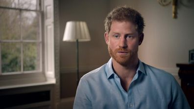 Prince Harry blamed the death of his mother on the paparazzi in a 2017 documentary.