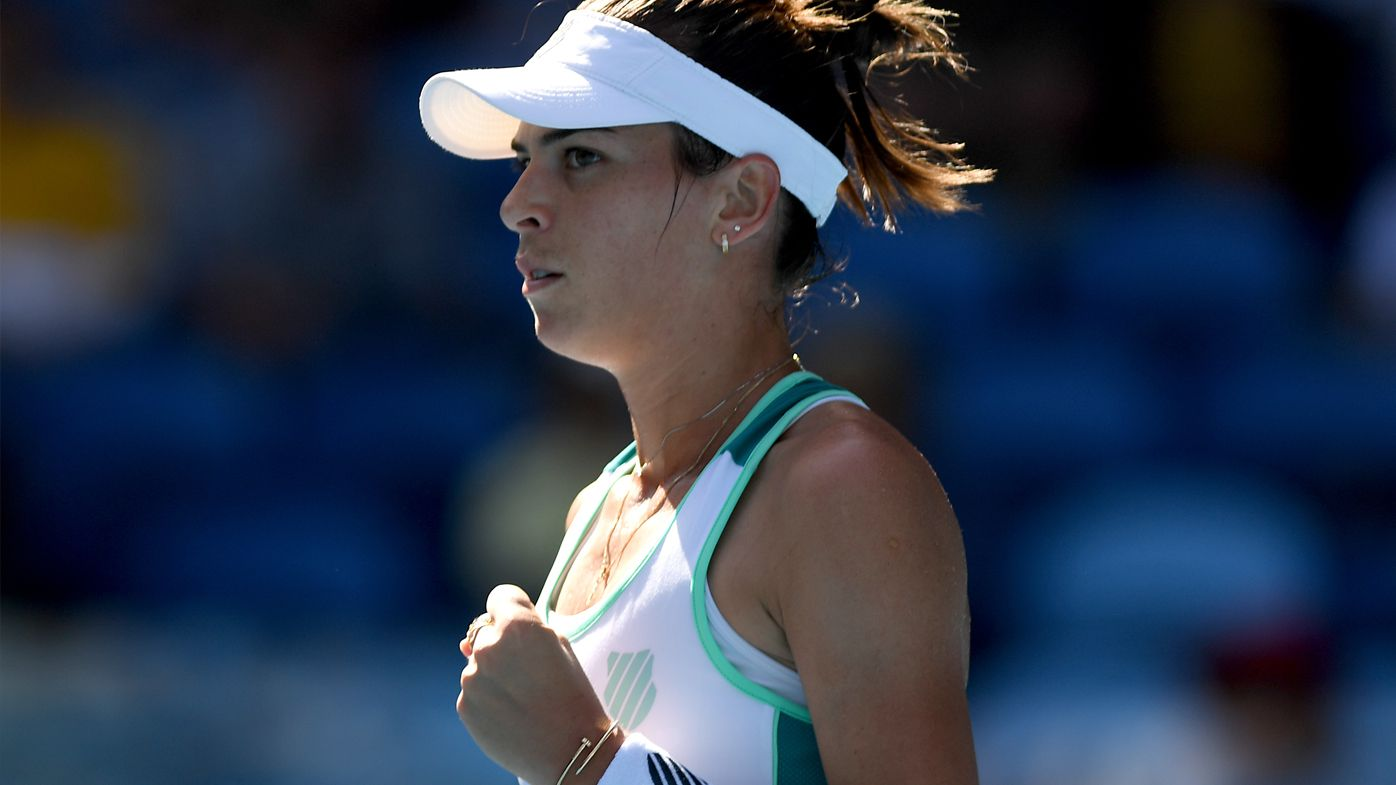 Ajla Tomljanovic ends five-year Australian Open drought by smashing 31st seed in opening round