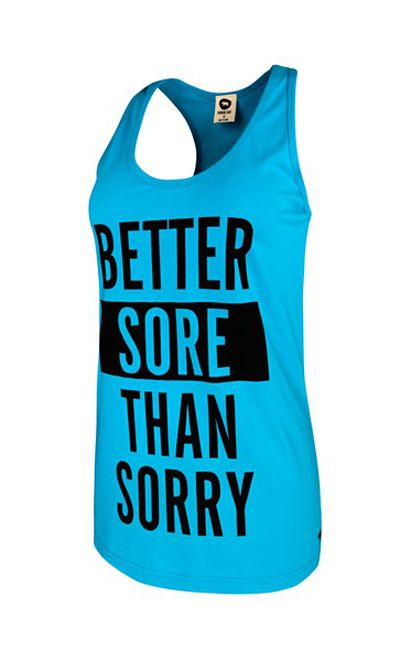 <strong>Running Bare Made in the 80s Boyfriend Tank</strong>