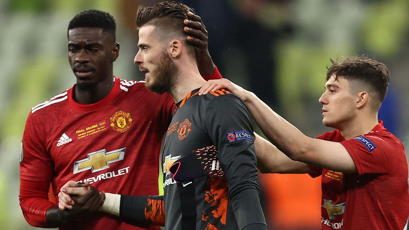 Goalkeeper David de Gea misses final penalty as Manchester United lose Europa League final in 11-10 shootout to Villarreal
