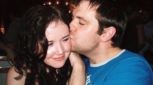 Jill and Tom Meagher in a photo he posted online. (Supplied)