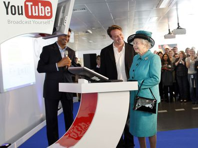 Queen Elizabeth uploads her first YouTube video, 2008