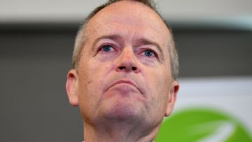 Bill Shorten became emotional speaking about his mum.