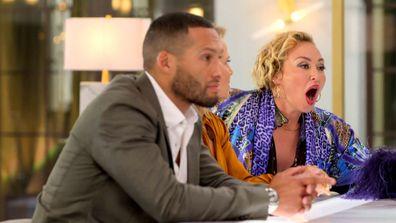 Josh Gibson Shaynna Blaze Camilla Franks Celebrity Apprentice Australia 2021