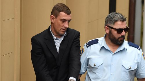 Sydney man who helped his girlfriend strangle a lover during drug-fuelled party jailed for 12 years