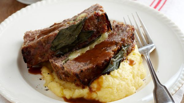 Marsala and sage meatloaf
