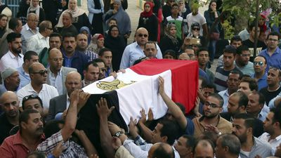At least 54 Egyptian police killed in ambush