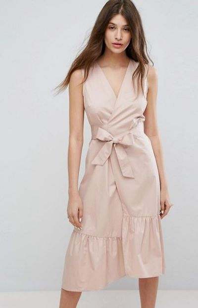 "<a href=""http://www.asos.com/au/warehouse/warehouse-peplum-hem-wrap-dress/prd/8229202?clr=lightpink&amp;cid=19165&amp;pgesize=36&amp;pge=0&amp;totalstyles=205&amp;gridsize=3&amp;gridrow=5&amp;gridcolumn=2"" target=""_blank"" draggable=""false"">Warehouse Peplum Hem Wrap Dress, $91.</a>"