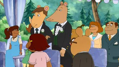 'Arthur' character Mr Ratburn gets married