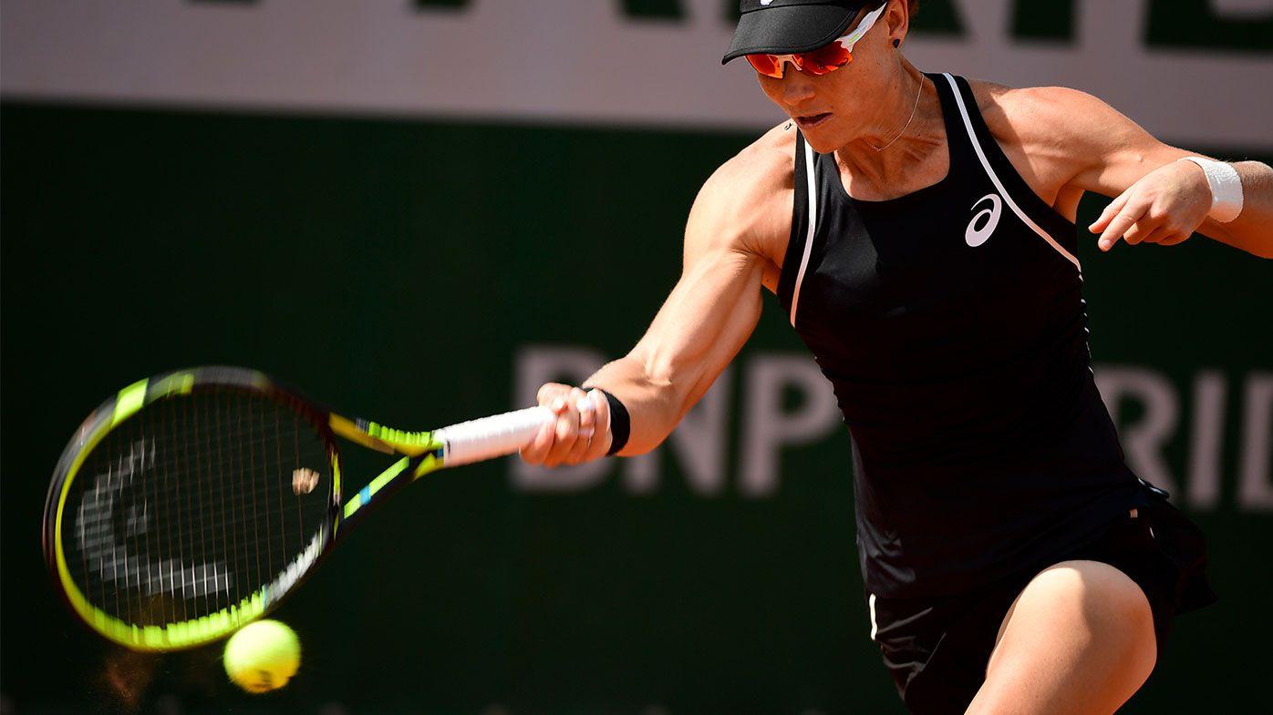 Samantha Stosur downs Anastasia Pavlyuchenkova to advance at French Open
