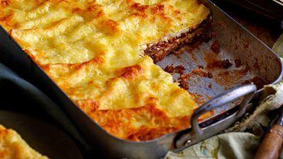 """<a href=""""http://kitchen.nine.com.au/2016/05/16/10/11/lasagne"""" target=""""_top"""">Lasagne</a><br> <br> <a href=""""http://kitchen.nine.com.au/2016/12/07/11/18/food-fight-greece-v-italy"""" target=""""_top"""">More Greek v Italian recipes</a><br> <br>"""