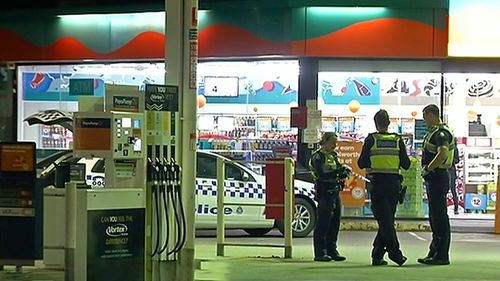 Police are seeking information after a gunman opened fire on a moving car in Melbourne's west overnight.