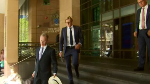 """The magistrate told Horton he needed to """"learn patience"""". (9NEWS)"""