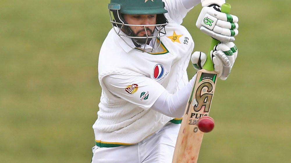 Pakistan opener Azhar Ali scored an unbeaten 82. (Getty Images)
