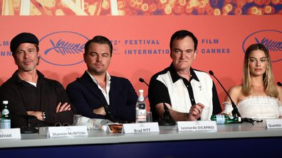 Quentin Tarantino snaps over Margot Robbie question