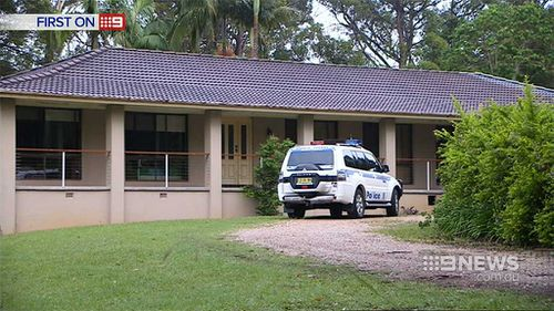 Police searched Mr Spedding's home and business in January. (9NEWS)