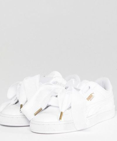 "<a href=""http://www.asos.com/au/puma/puma-basket-heart-sneakers-in-patent-white/prd/7351563?clr=white&SearchQuery=&cid=6456&gridcolumn=4&gridrow=15&gridsize=4&pge=1&pgesize=72&totalstyles=99"" target=""_blank"">Puma Basket Heart Sneakers In Patent White, $139</a>"