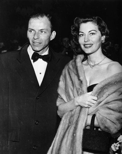The couple attend a Hollywood party.