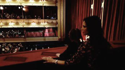 Victoria Beckham went to the ballet with her daughter Harper to celebrate Christmas Eve. (Instagram)