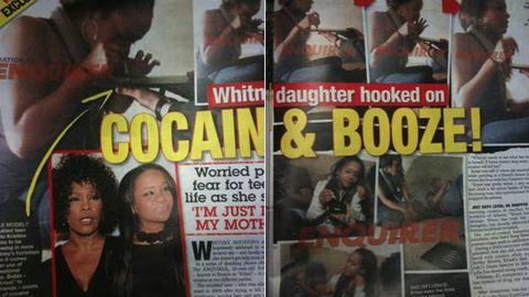 Bobbi Kristina caught taking drugs