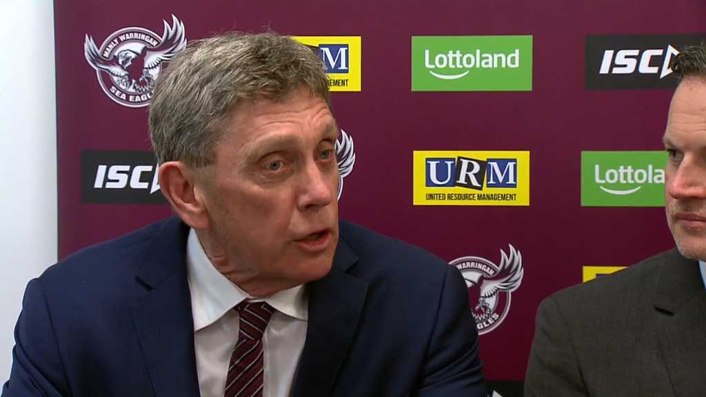 Gorman named new Manly CEO