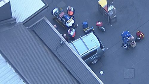 The incident was not terror-related. (9NEWS)