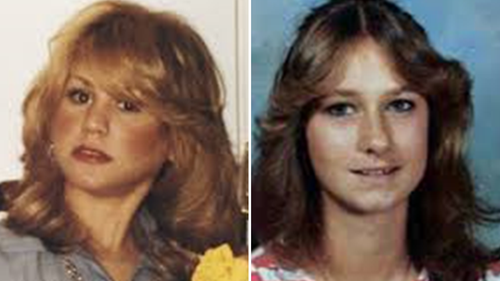 Heidi Fye (L) and Laura Miller (R). Miller's remains were found 18 metres from where Fye's remains were found a year before.