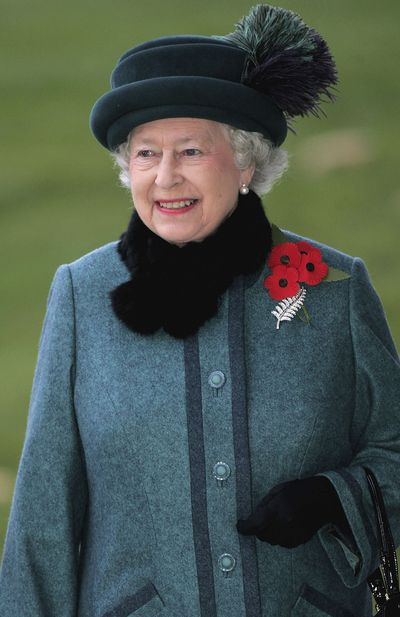The Queen's New Zealand Fern brooch