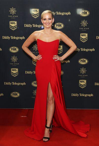 Fox Sports presenter Jess Yate