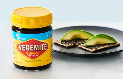 Vegemite 40% Less Salt