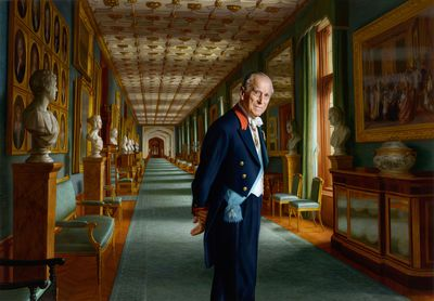 Prince Philip's retirement portrait