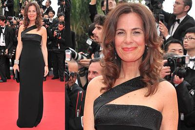 At the Opening Ceremony of the 64th Cannes Film Festival