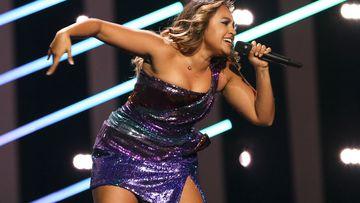 Aussie singer Jess Mauboy on her way to Eurovision final