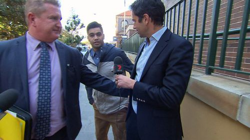 Mr Moana returns to court in October. Picture: 9NEWS