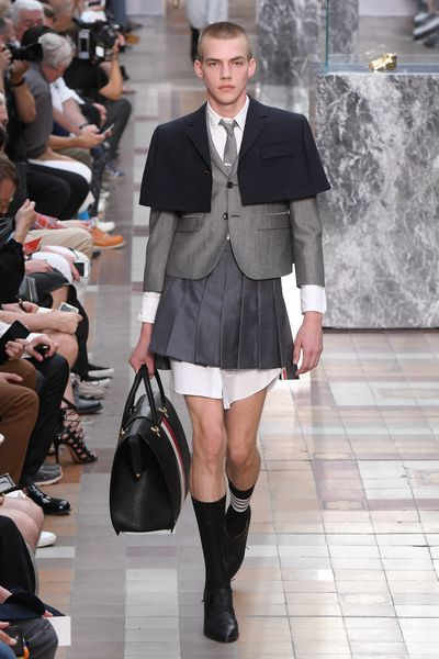 <p>Thom Browne, menswear, spring '18, Paris</p>