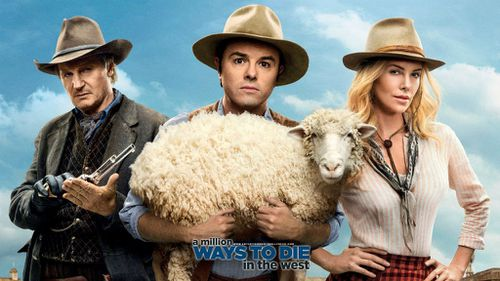 "A Million Ways to Die in the West look out a swag of ""worst of"" awards, including worst director for Seth MacFarlane. (Supplied)"