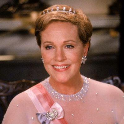 Julie Andrews as Queen Clarisse Renaldi: Then
