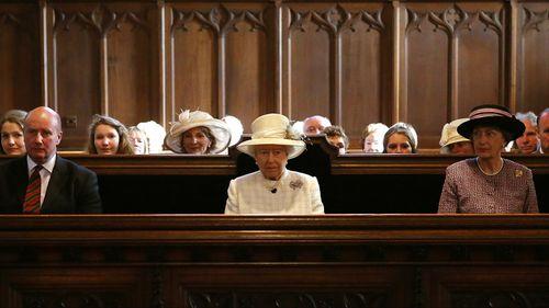 Queen Elizabeth II attended a ceremony in Aberdeenshire, Scotland. (Getty)