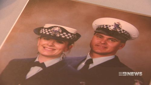 Ms Richardson was a young constable when the bomb struck. Picture: 9NEWS