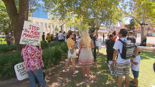 Joe Mekhael protests