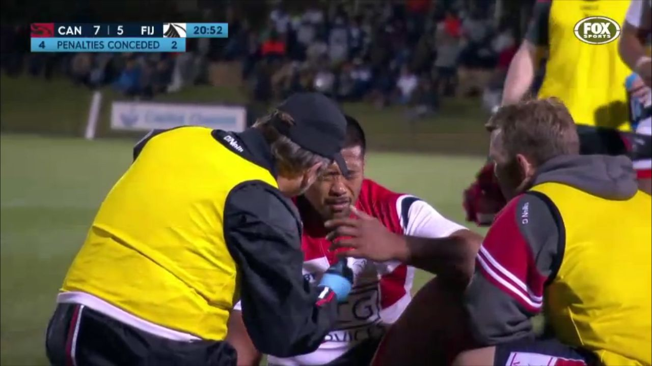 NRC players facing eye-gouging charges