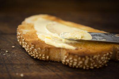 <strong>8. Plain butter</strong>