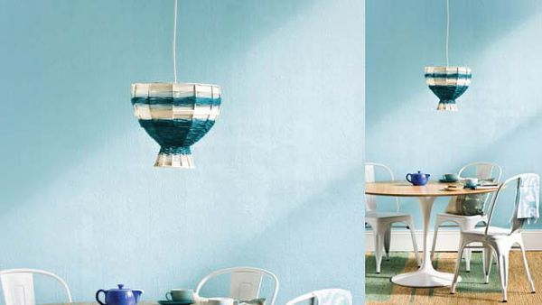Handywoman: make your own woollen pendant lamp cover
