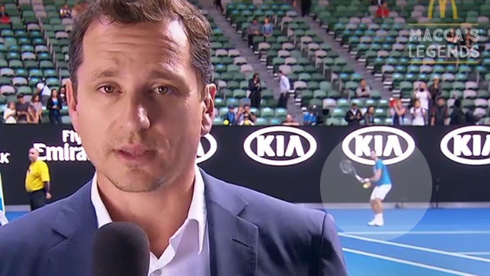 Djokovic takes aim at Australian Open reporter