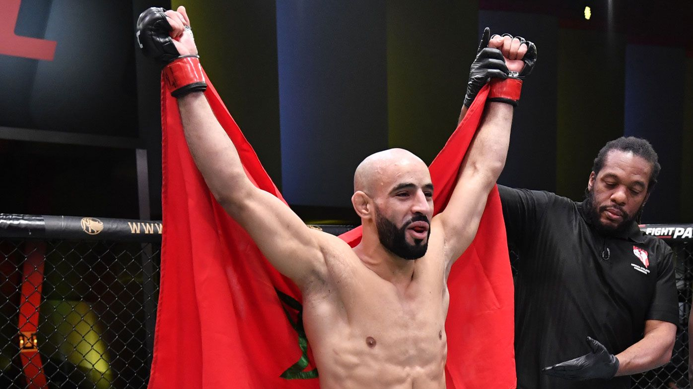 Undefeated star Ottman Azaitar fired by UFC for bizarre bubble breach