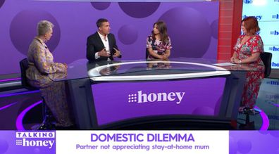 John Aiken and Jo Abi Talking Honey Relationship Series discussion about domestic duties.