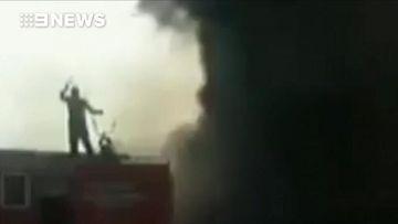 Oil tanker fire kills more than 120 people in Pakistan