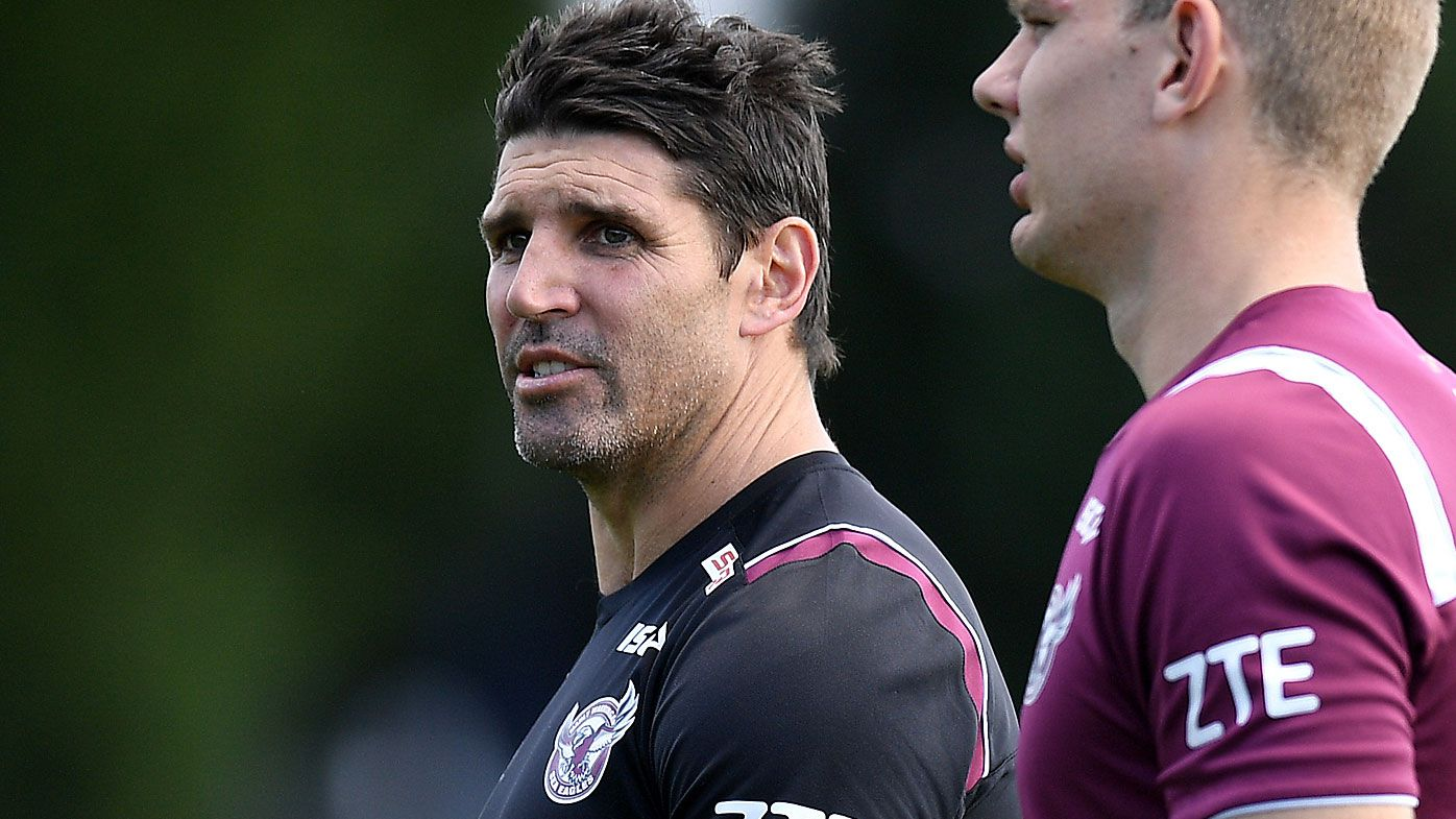 Trent Barrett to stay at Manly Sea Eagles for final round of NRL